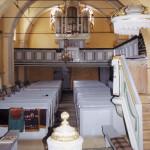 Innenansicht der evangelischen Kirche